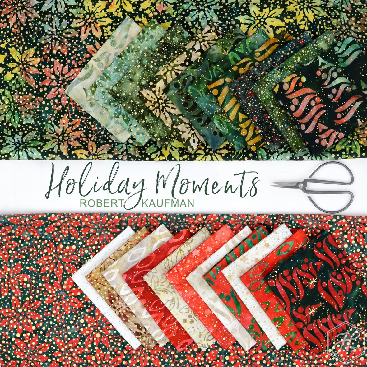 Holiday Moments Robert Kaufman Lunn Studios Batic fabric at Hawthorne Supply Co