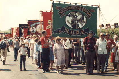 Unions procession 1984