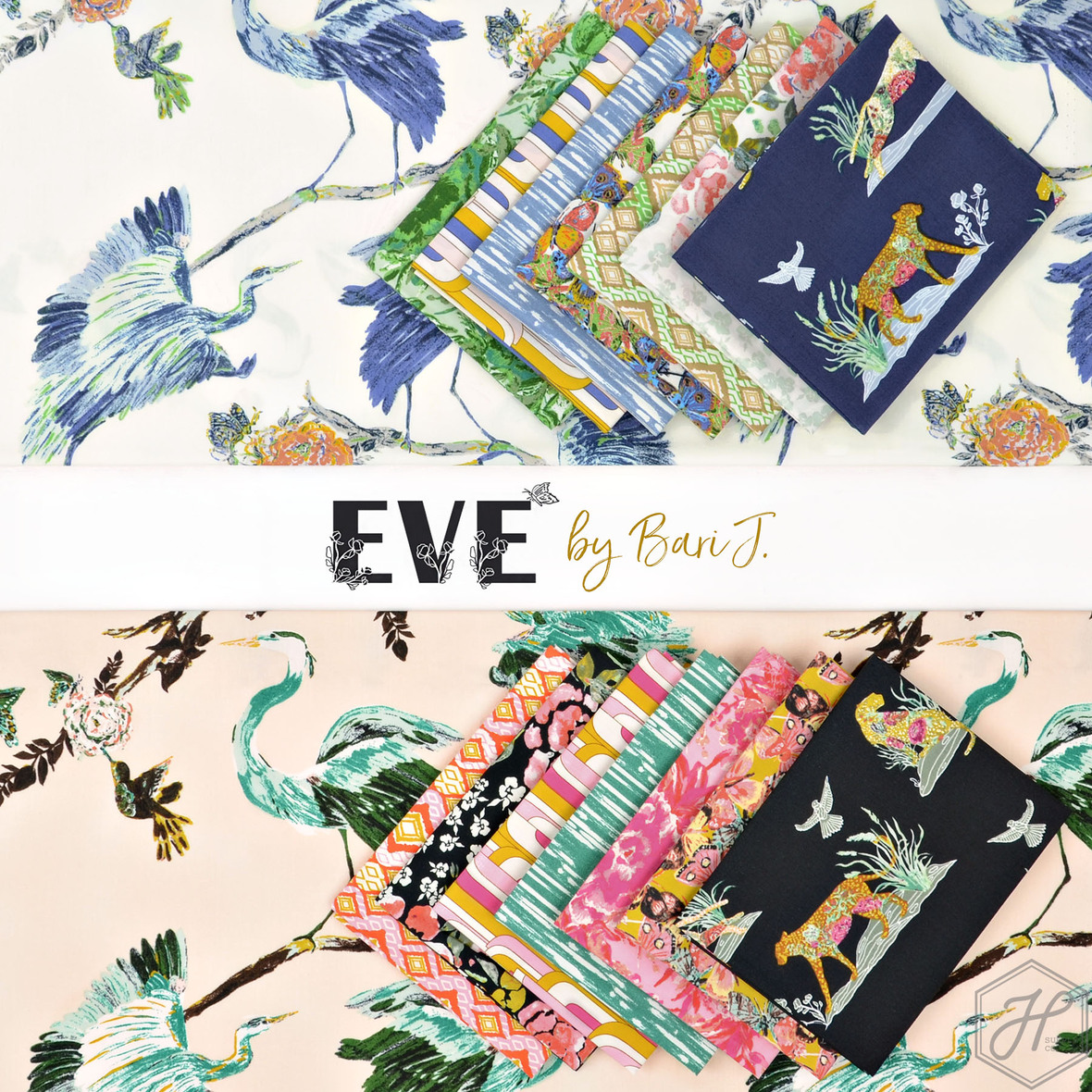 Eve Fabric Collection by Bari J Art Gallery at Hawthorne Supply Co