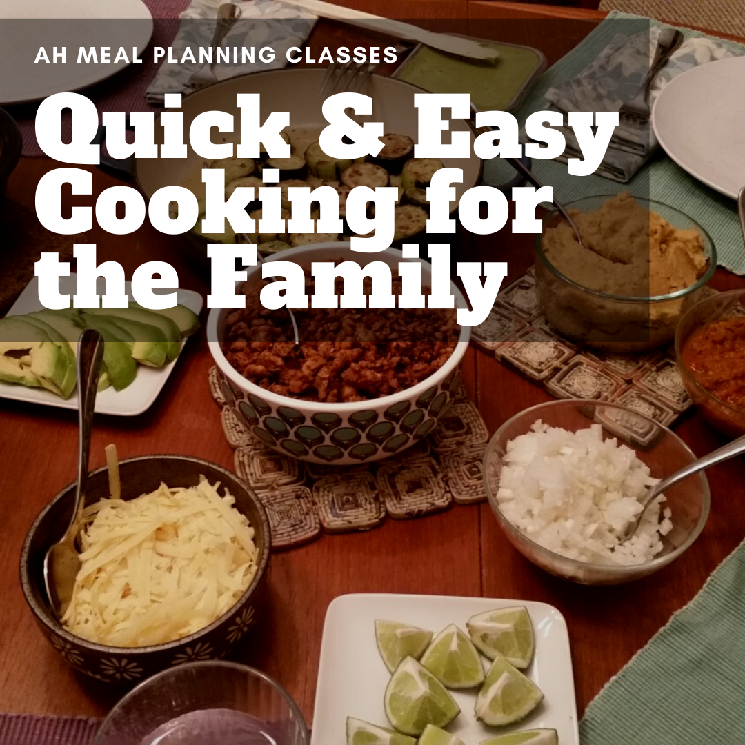 Quick and Easy for the Family