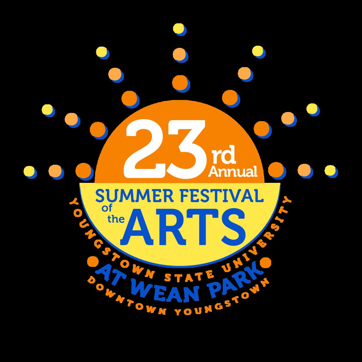 23rd summer festival logo final