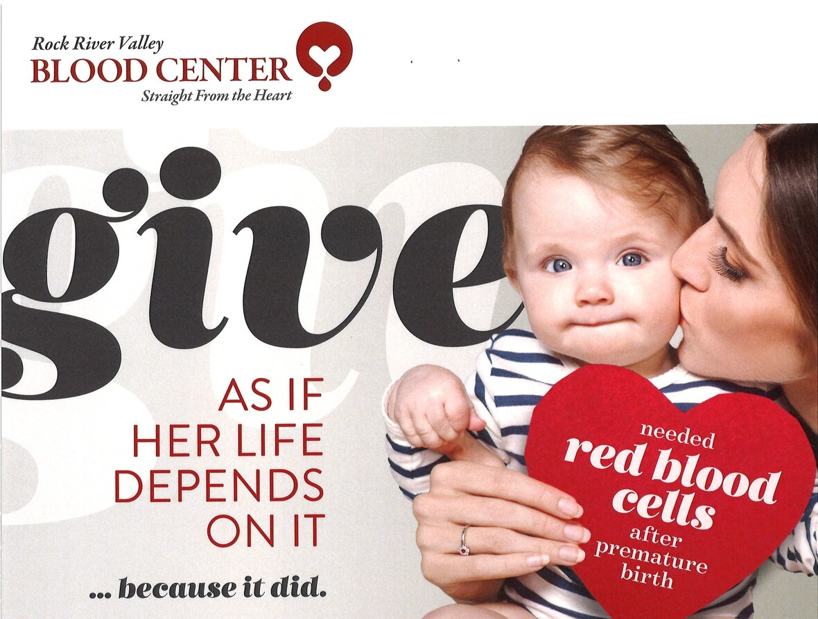 Blood Drive image with baby