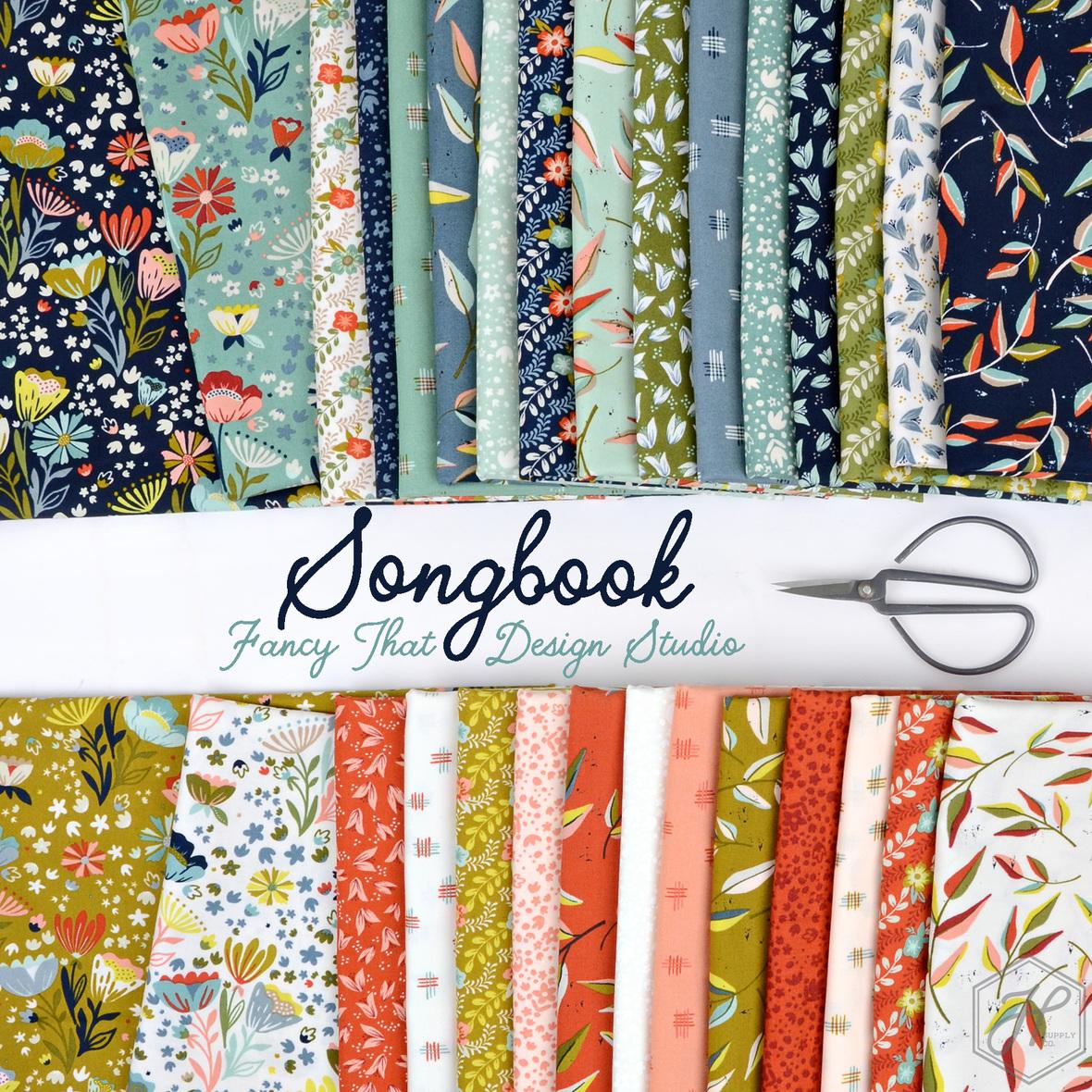 Songbook Fabric Fancy That Design Studio