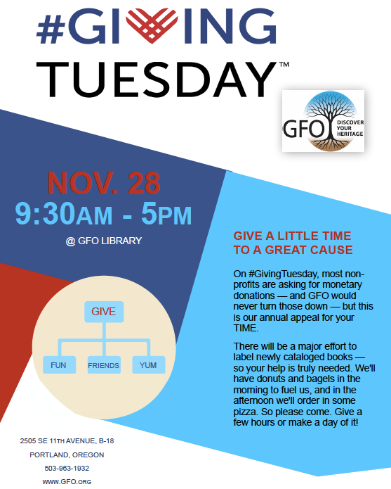 GivingTuesday 2017 Flyer