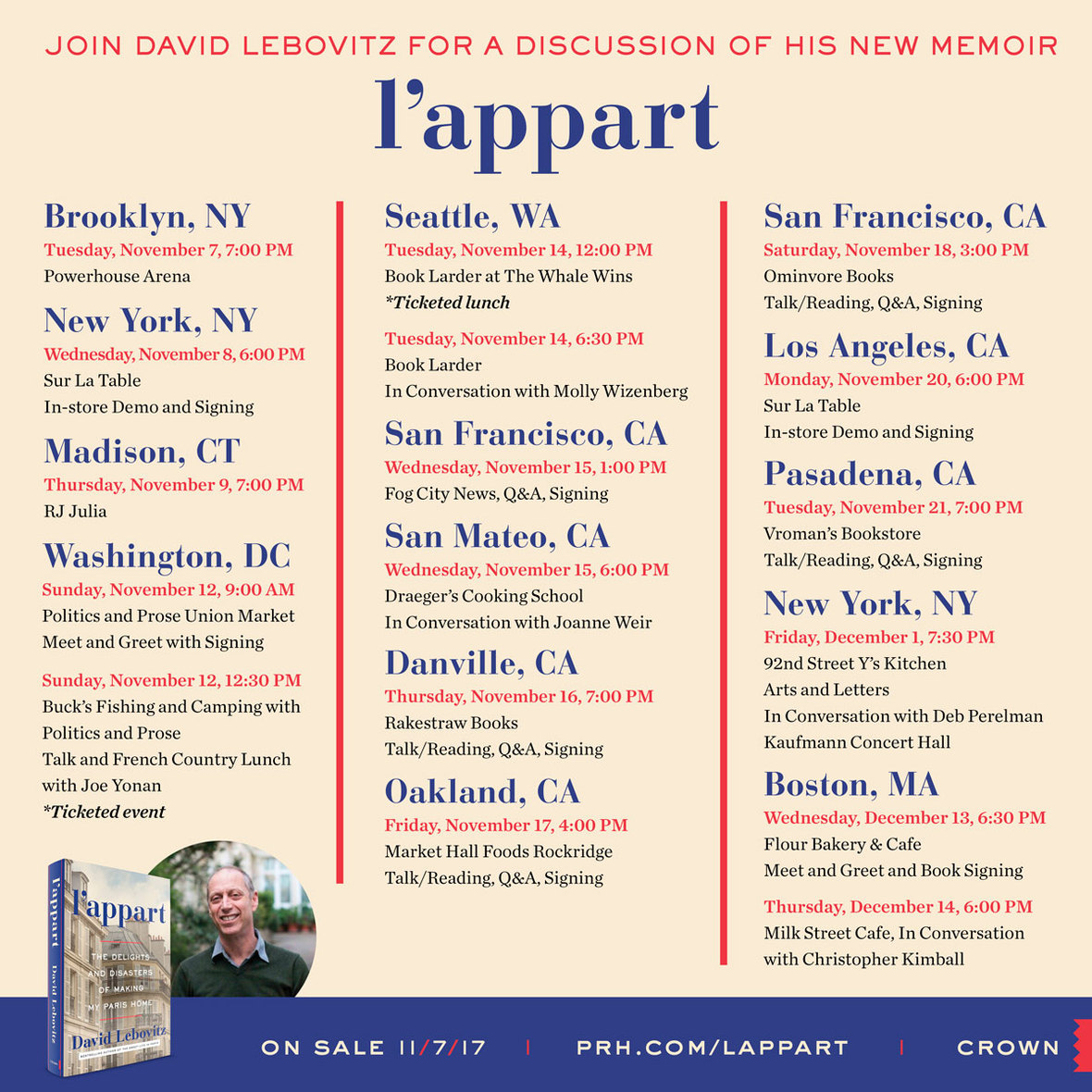 lappart authortour