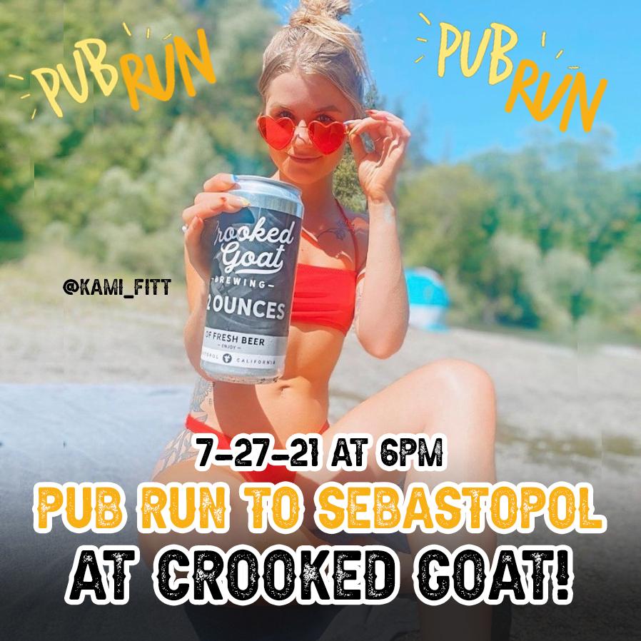 crooked goat pub run