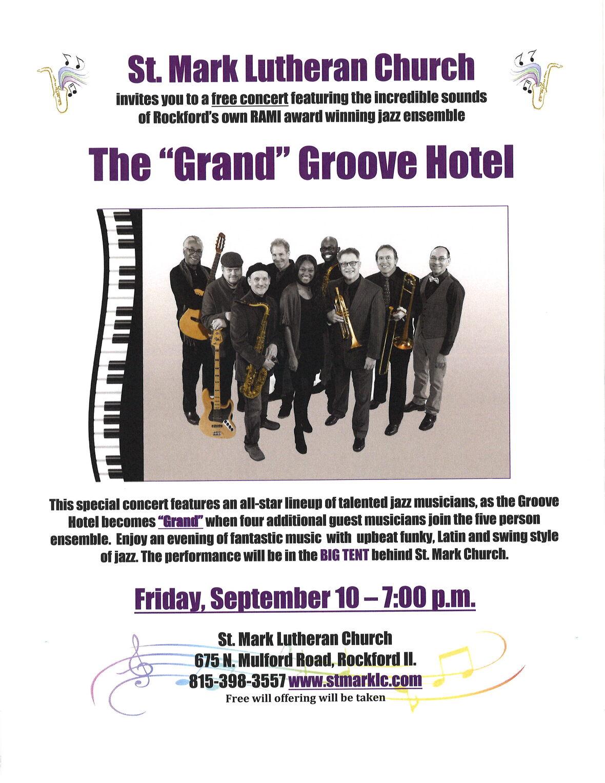 2021 Groove Hotel Concert