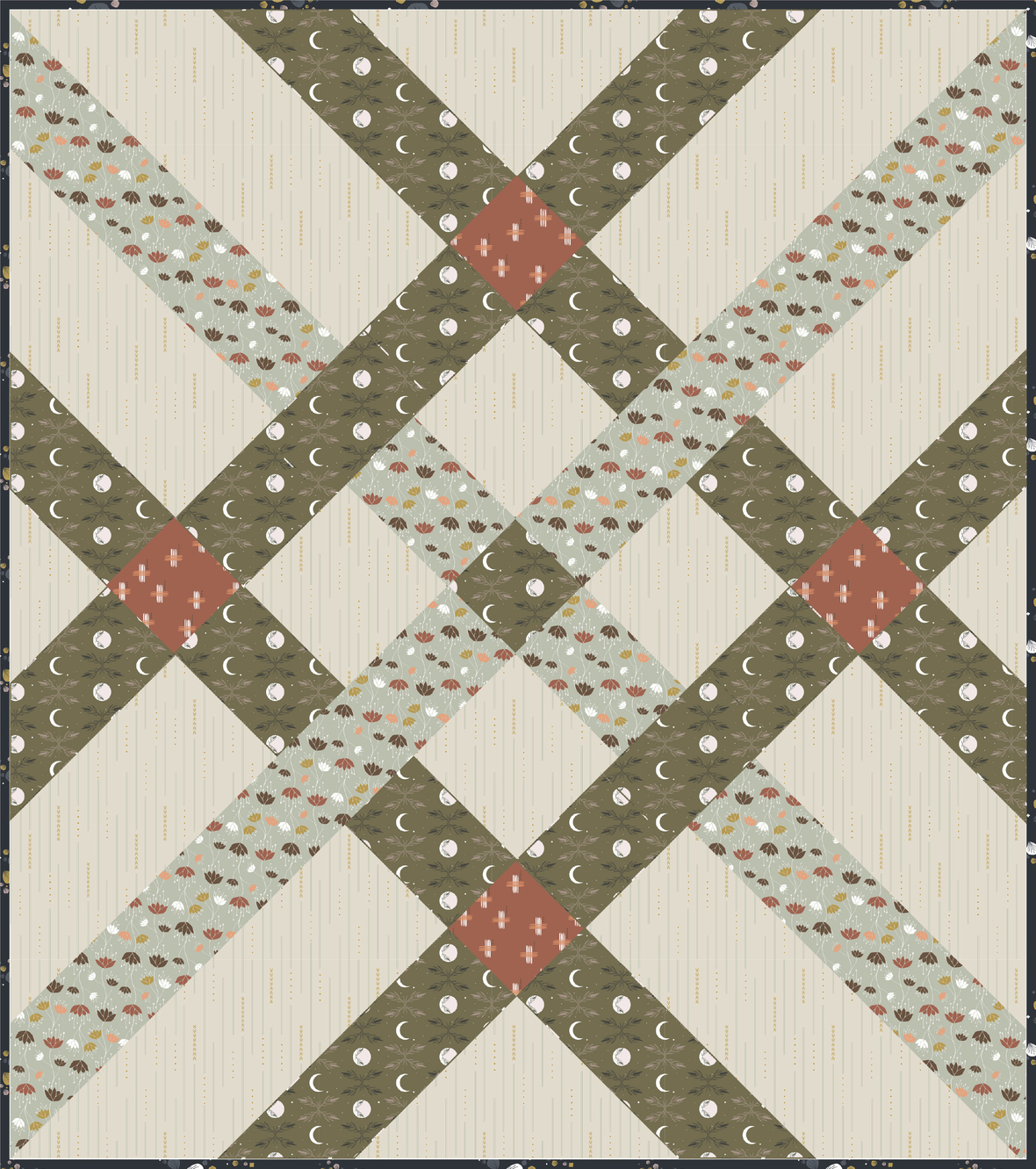 Fishing Net by Suzy Quilts