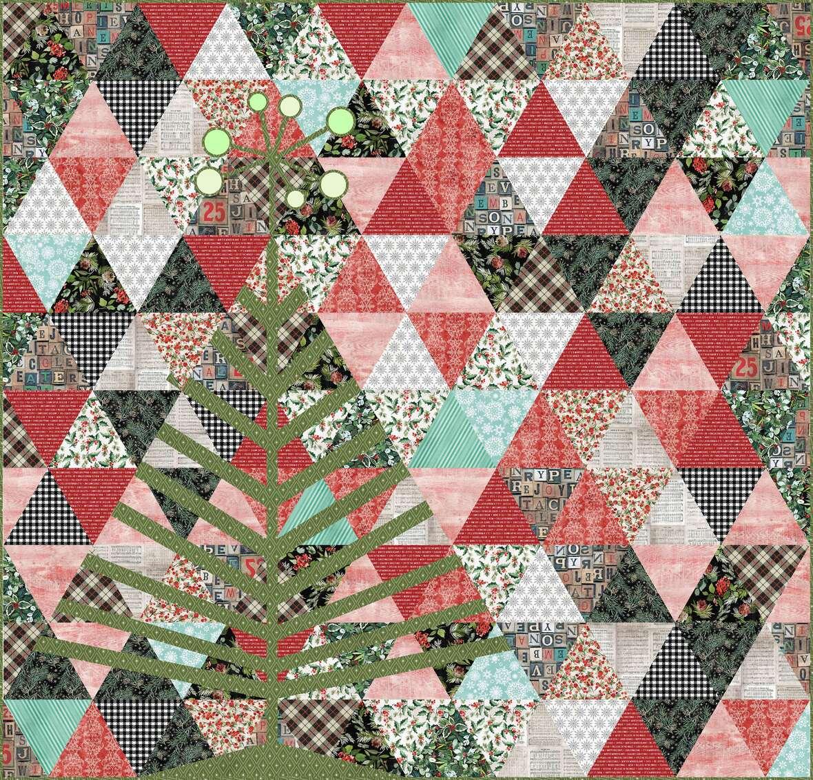 TH Christmastime - Tinsel Tree