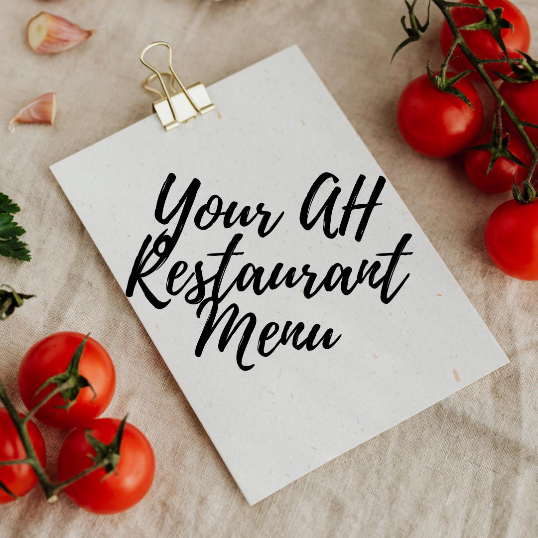 AH Restaurant Guide