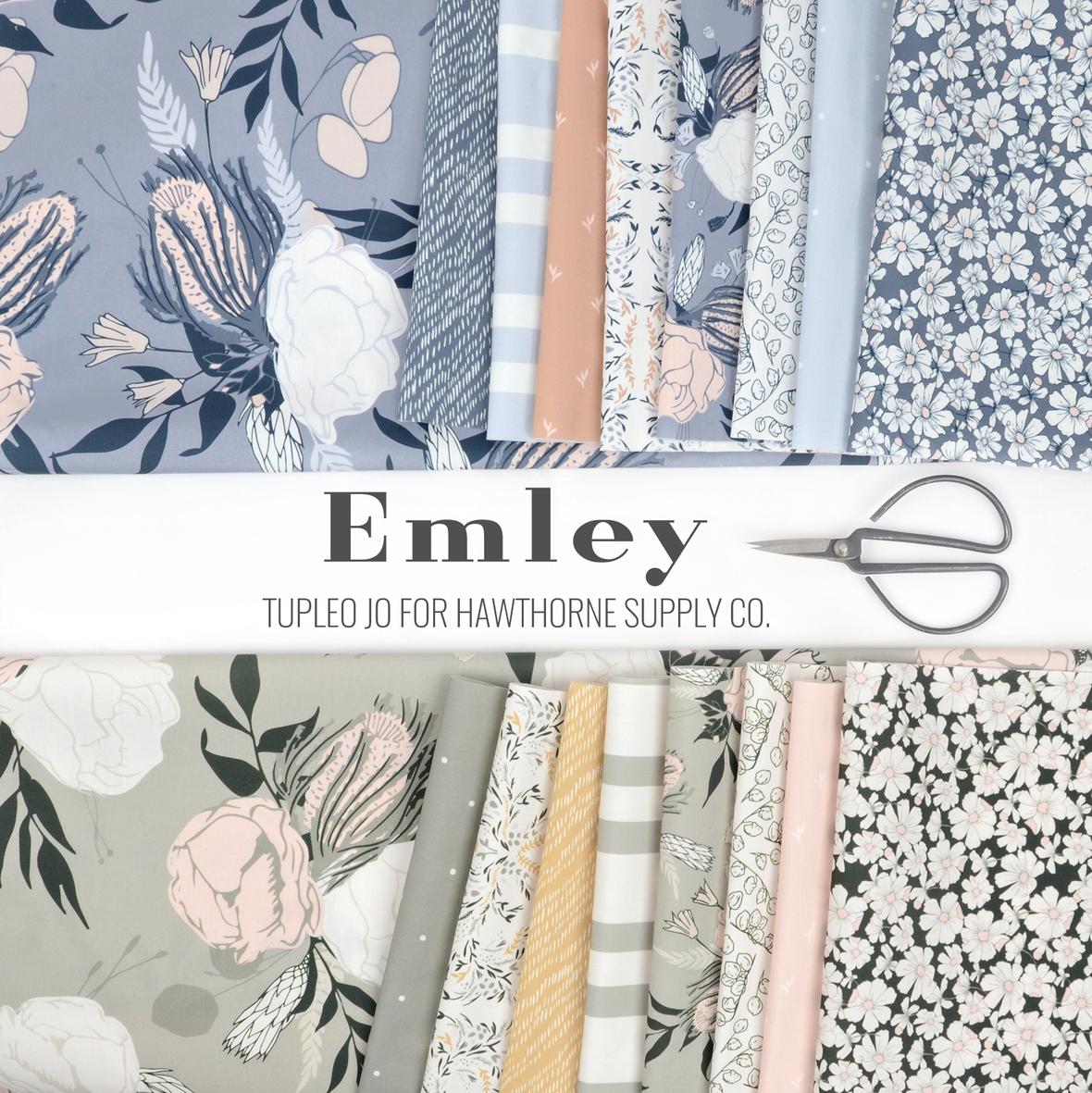 Emley Tupelo Jo fabric for Hawthorne Supply Co.