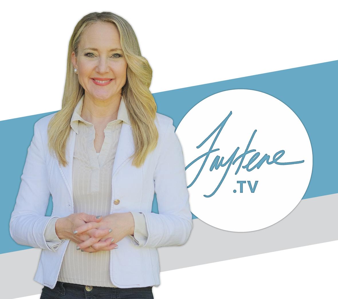 FayteneWhiteJacket2021bluestripePodcast