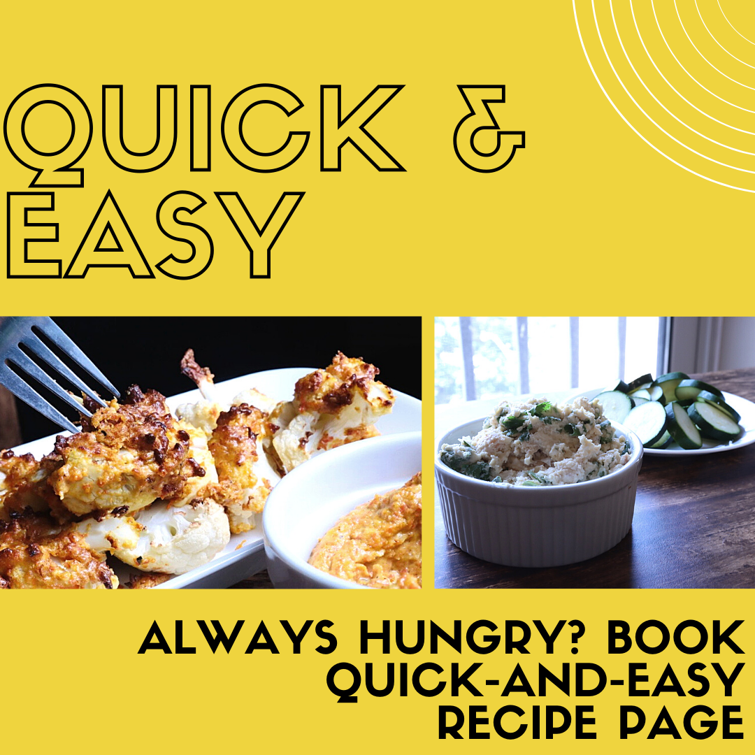 Quick and Easy Recipe Page