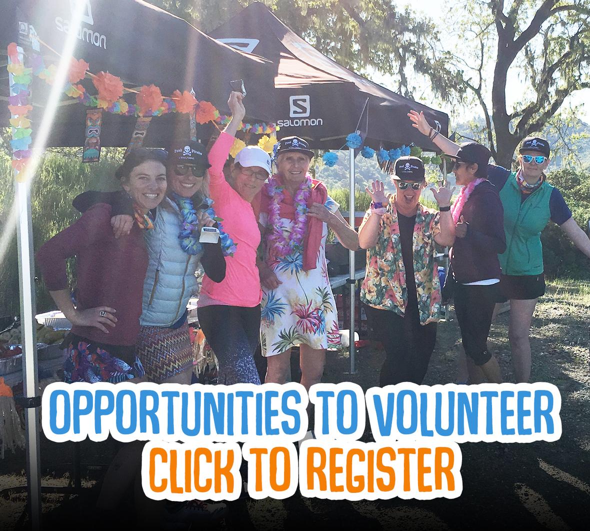 volunteers aid station