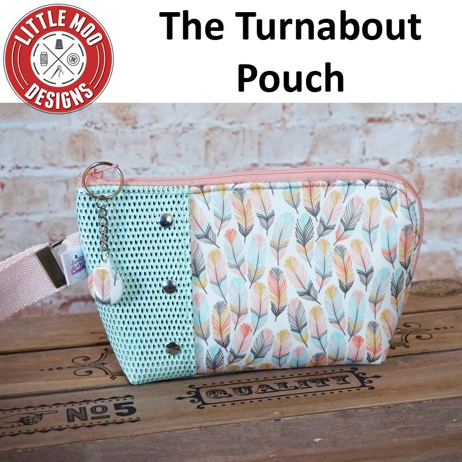 little moo designs the turnabout pouch sewing pattern