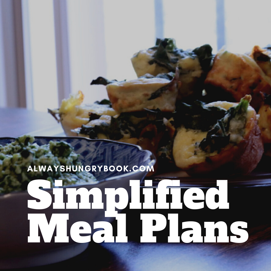 Simplified Meal Plans