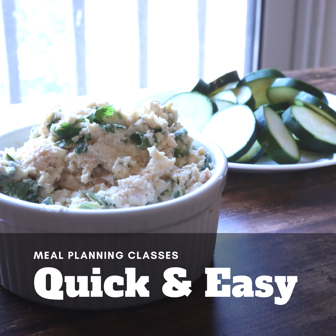Quick and Easy Meal Planning Class