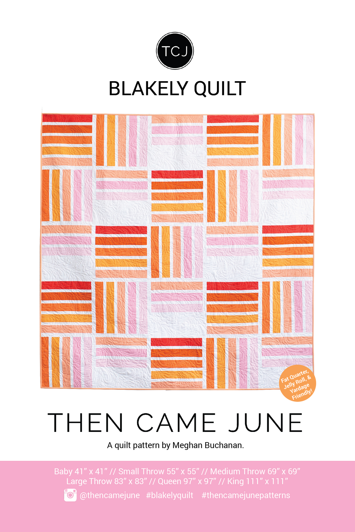 123 Blakely Quilt Pattern Cover