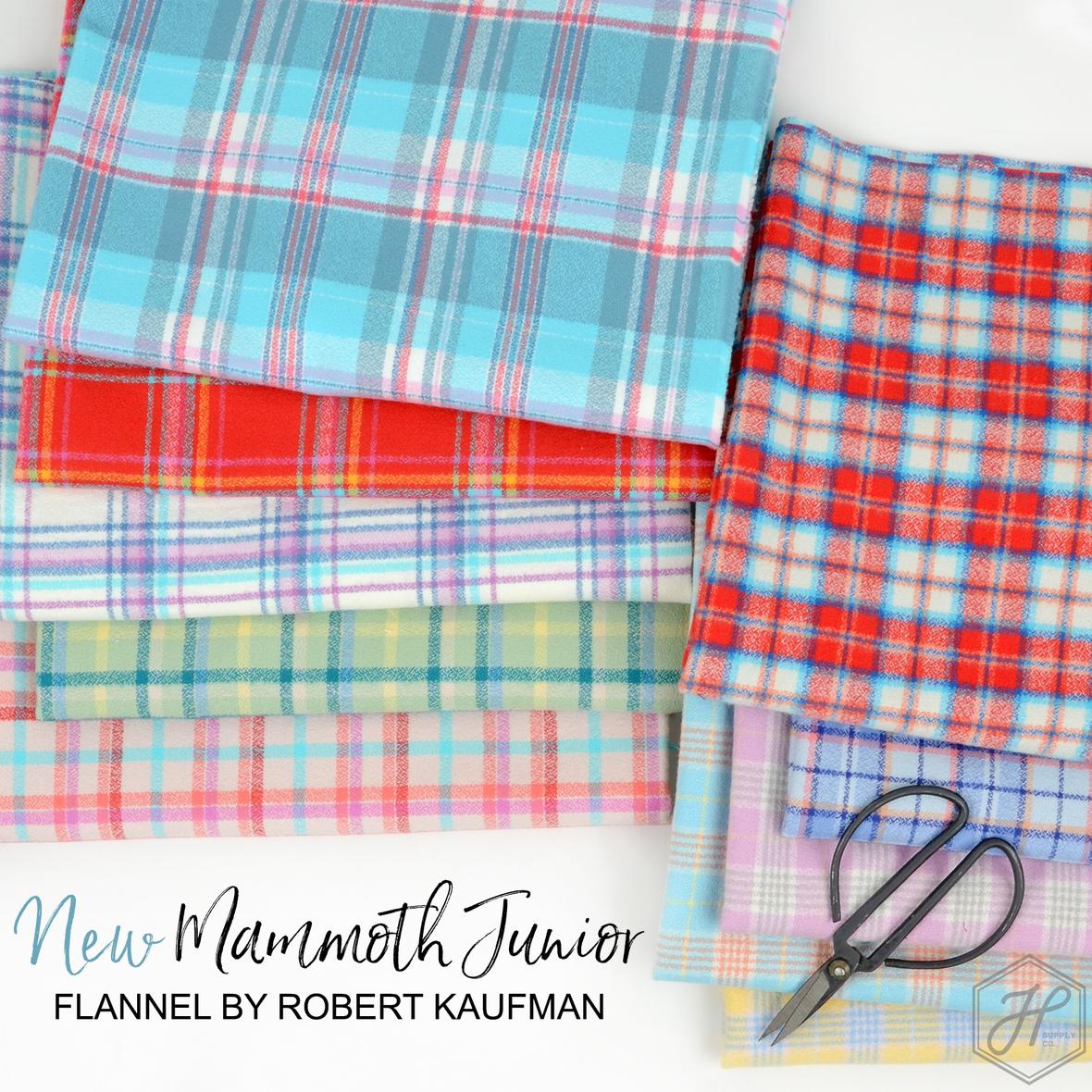 New Mammoth Junior Flannel