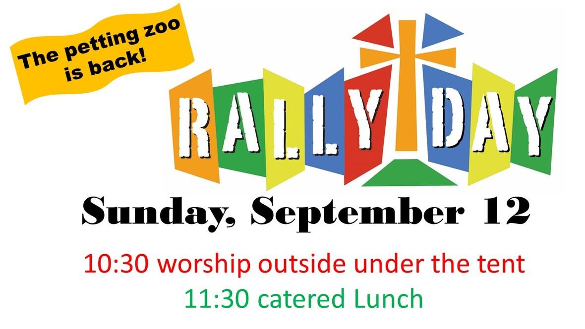 Rally Sunday 2021