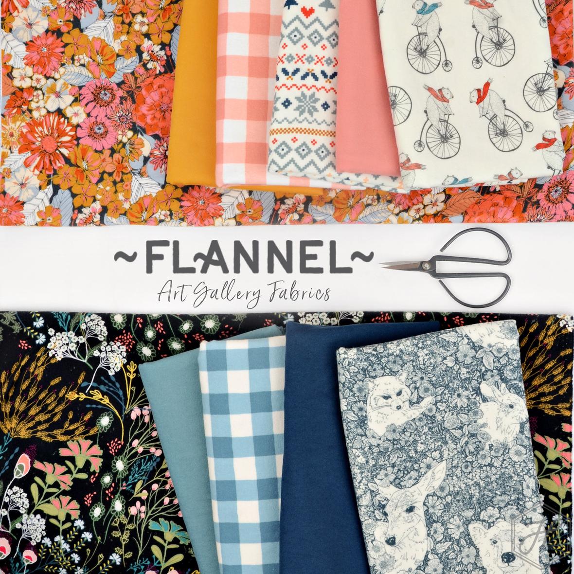 Art Gallery Flannel