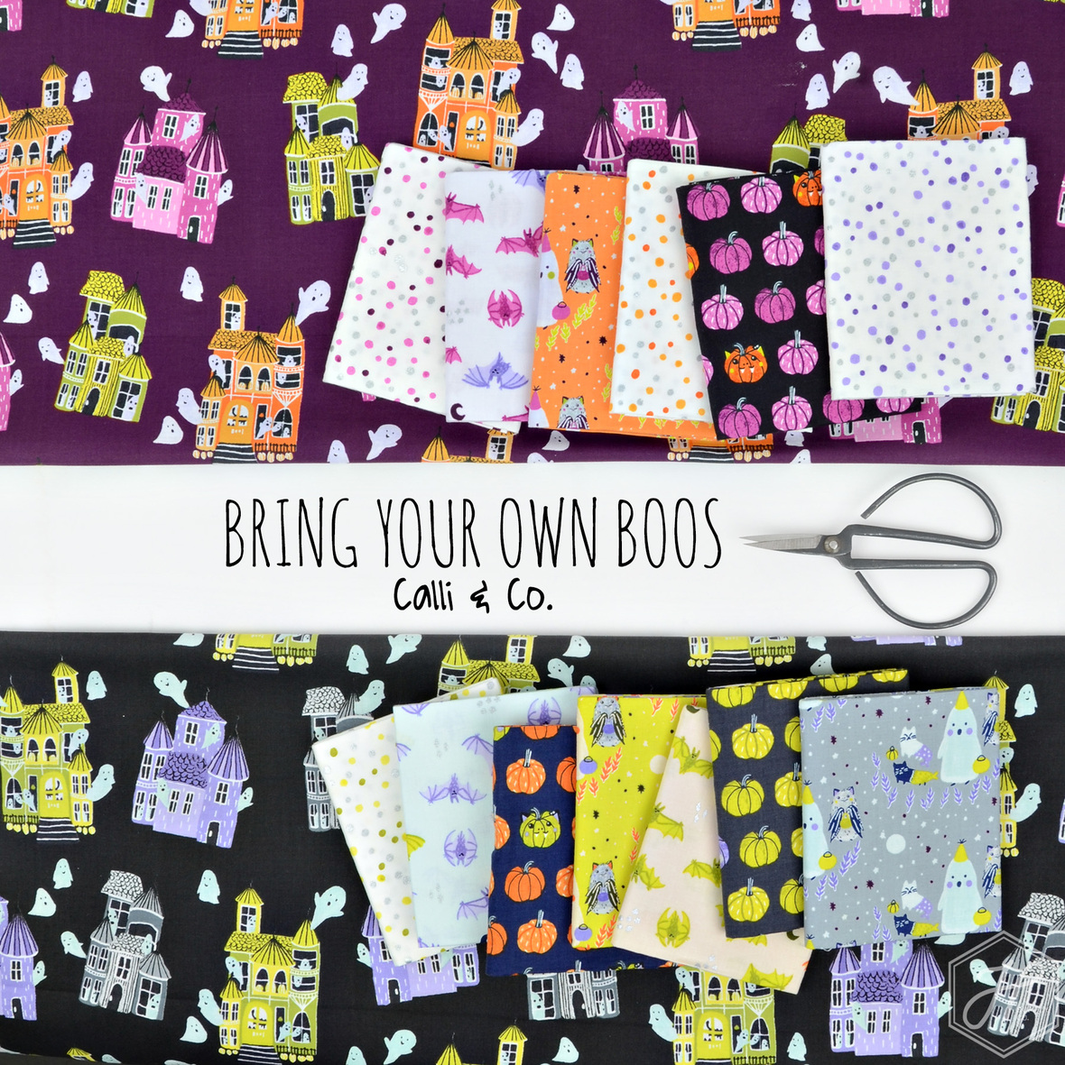 Bring Your Own Boos fabric Calli and Co for Cotton and Steel at Hawthorne Supply Co