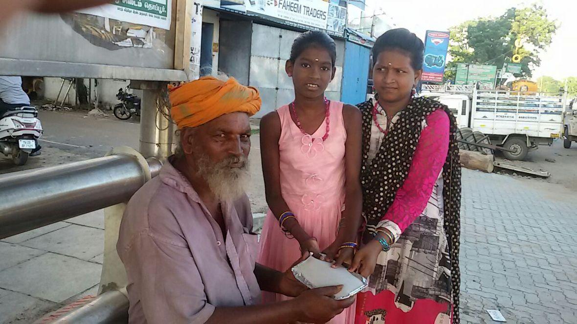 Feeding the poor
