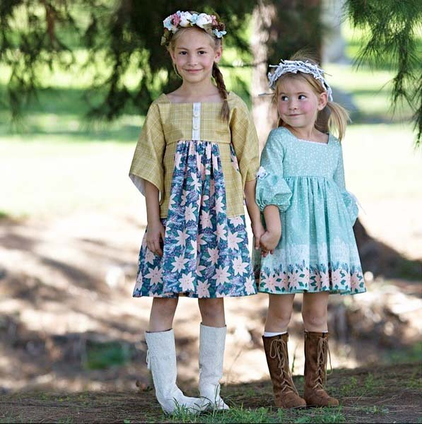 Lily Shine Creates Comfort and Joy Dresses