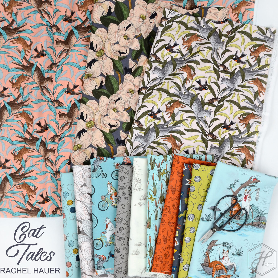 Cat-Tales-Fabric-Rachel-Hauer-for-Free-Spirit-at-Hawthorne-Supply-Co