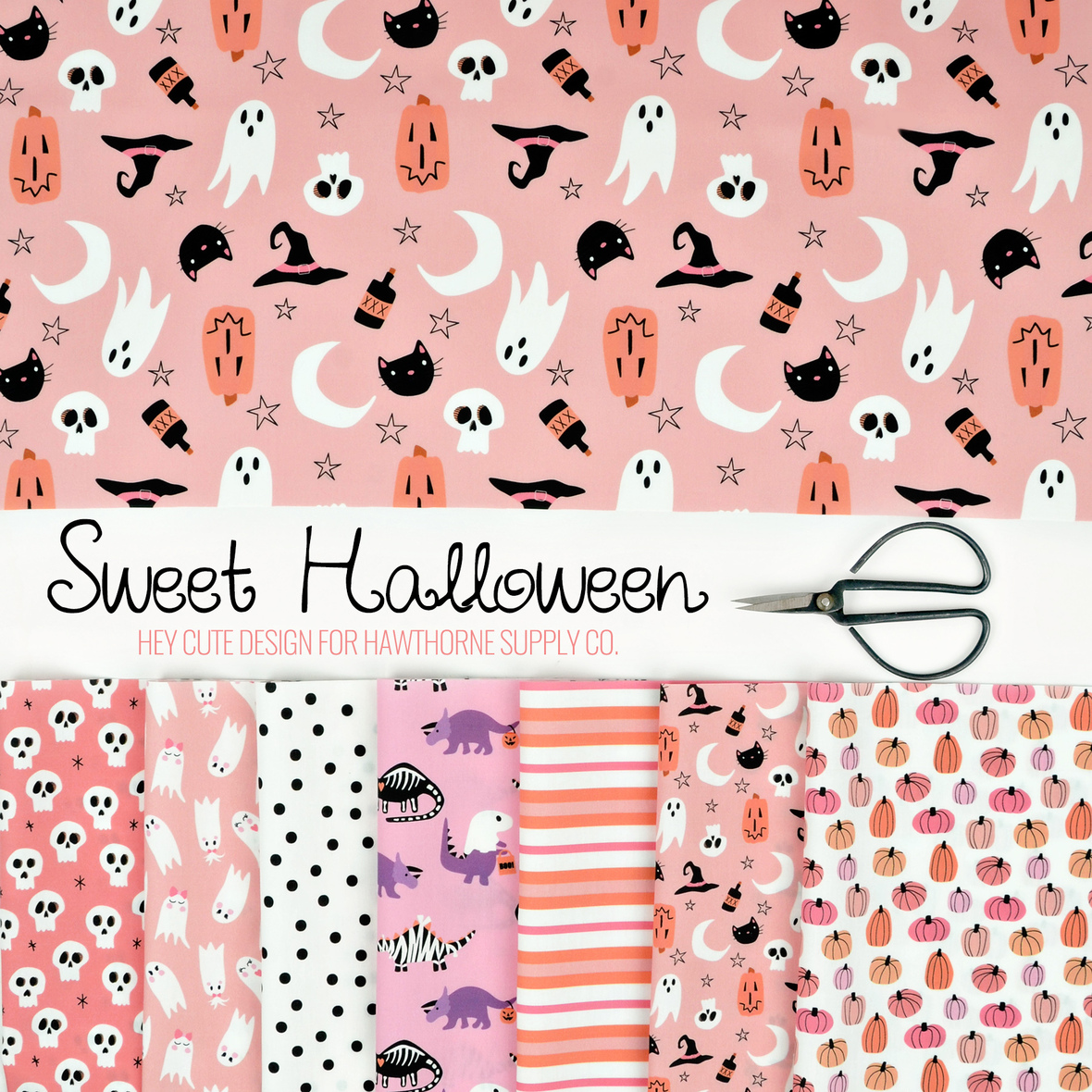 Sweet Halloween by Hey Cute Design for Hawthorne Supply Co.