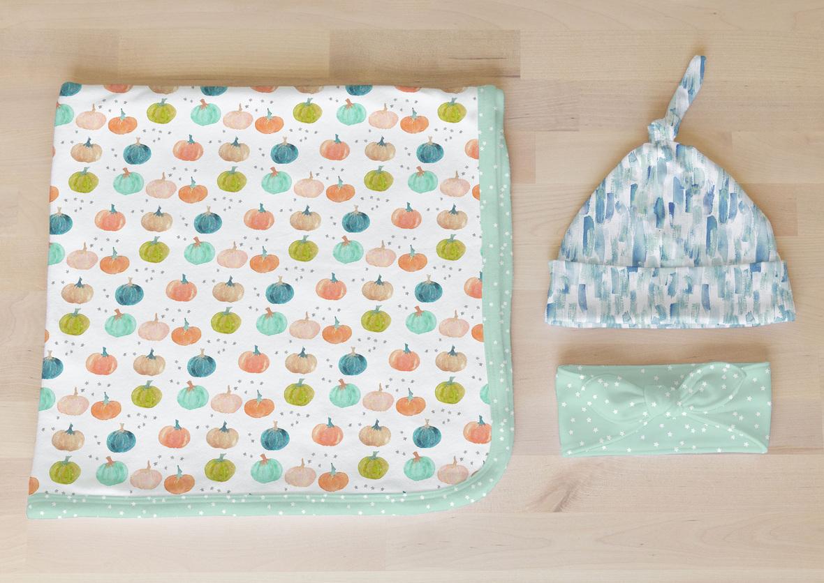 Knit Newborn Setb
