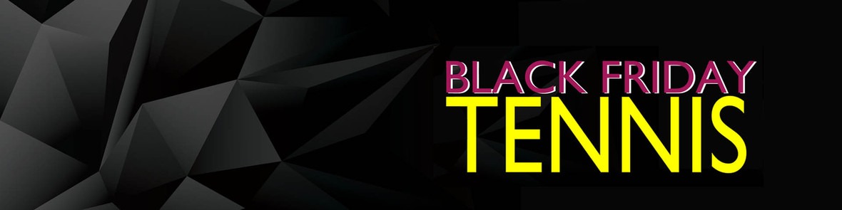 black friday TENNIS web banner
