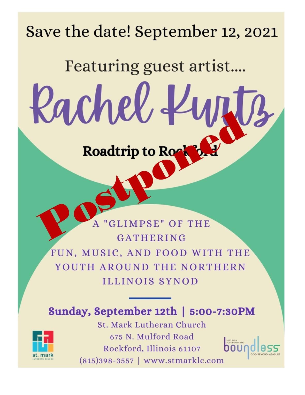 Rachel Kurtz Postponed