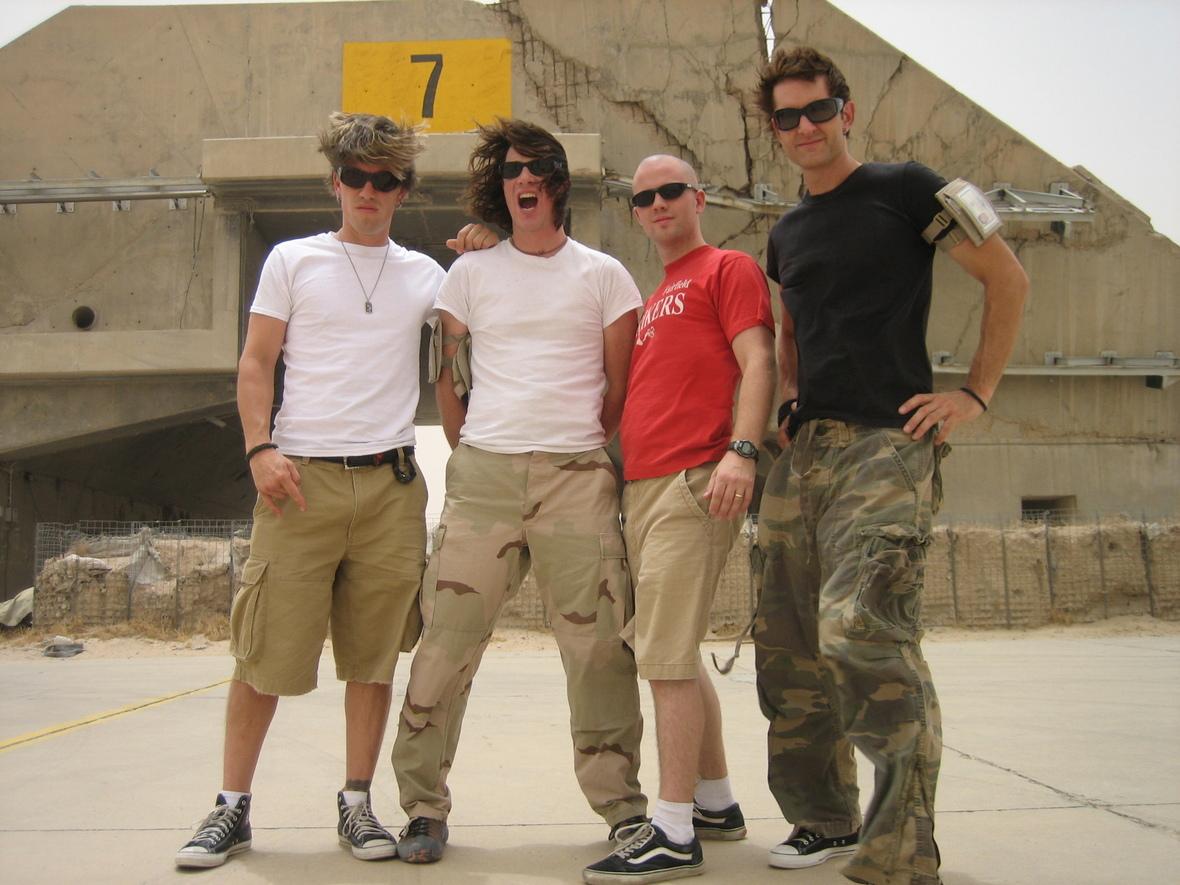 Edisun in front of bunker Kuwait copy