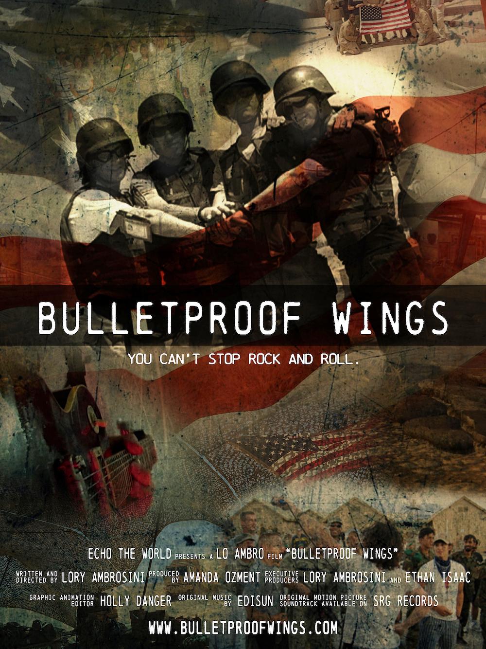 Bulletproof Wings Poster