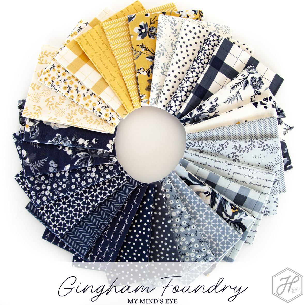 Gingham Foundry Riley Blake Fabric at Hawthorne Supply Co