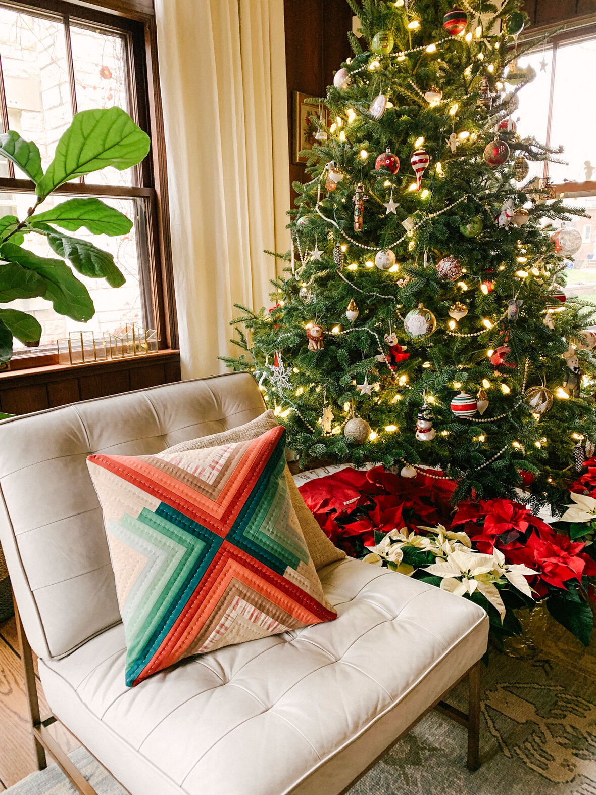 Christmas-Quilted-Pillow