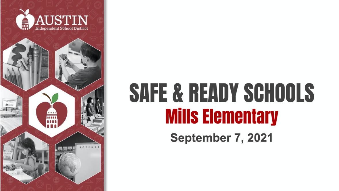 Safe Ready Schools- Mills Elementary 1 2