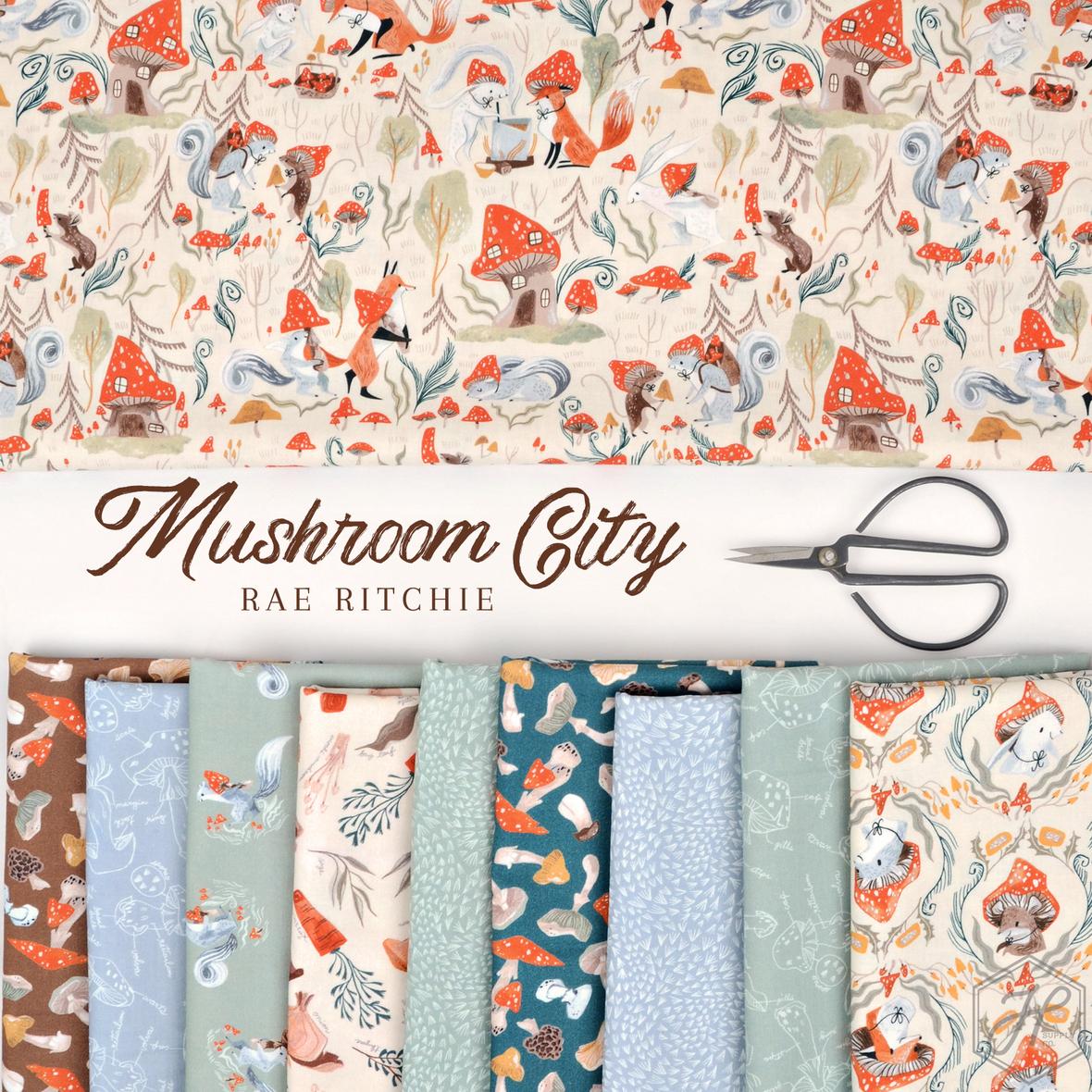 Mushroom City Rae Ritchie for Dear Stella at Hawthorne Supply CO