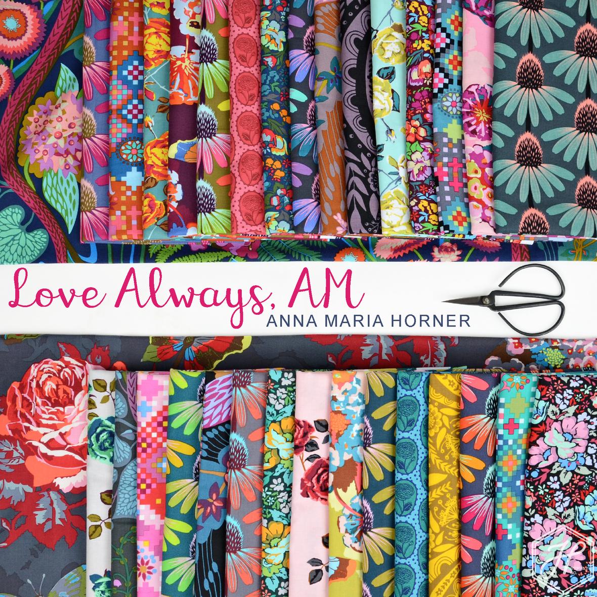Love Always AM Fabric Anna Maria Horner for Free Spirit at Hawthorne Supply Co