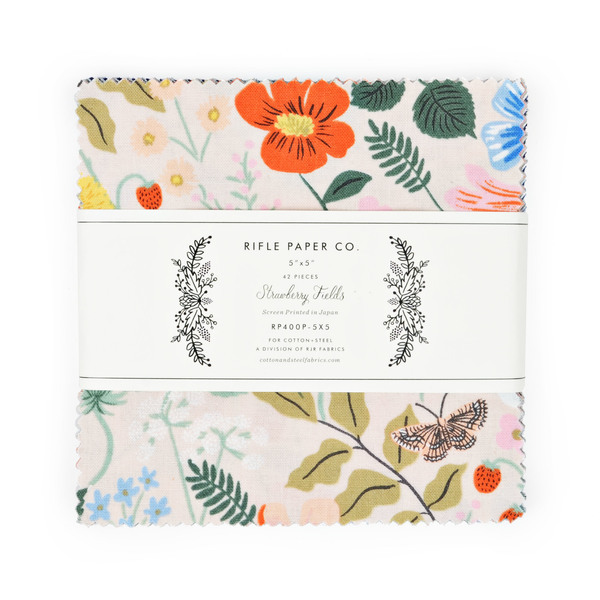 Strawberry Fields 5 Square pack