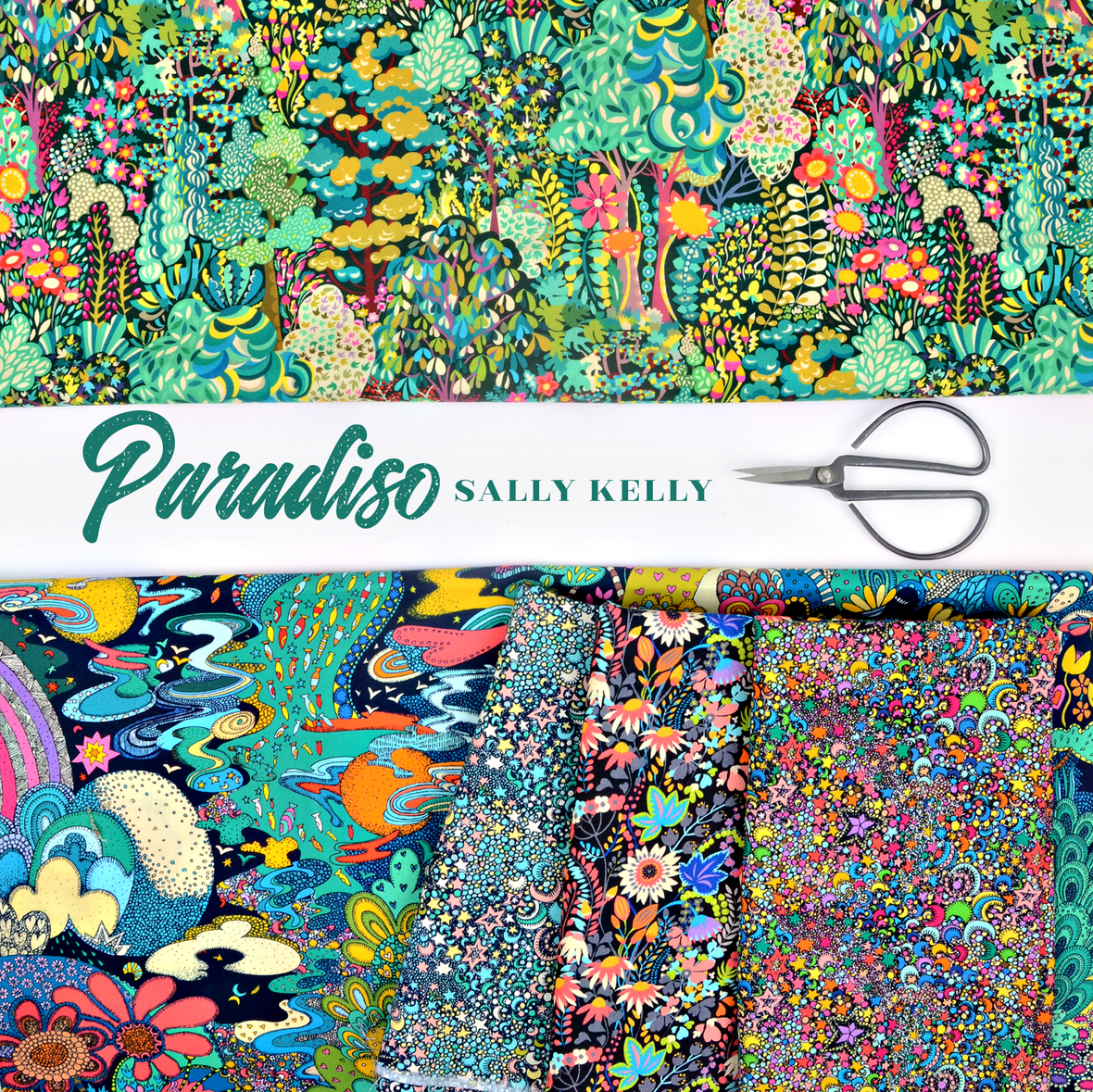 Paradisco fabric Sally Kelly for Windham