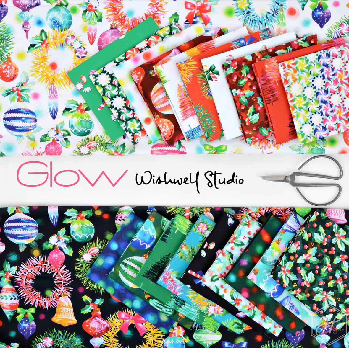 Glow Fabric Wishwell Studio for Robert Kaufman at Hawthorne Supply Co
