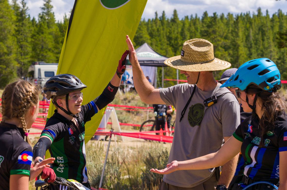 Conifer Coach Finish Line