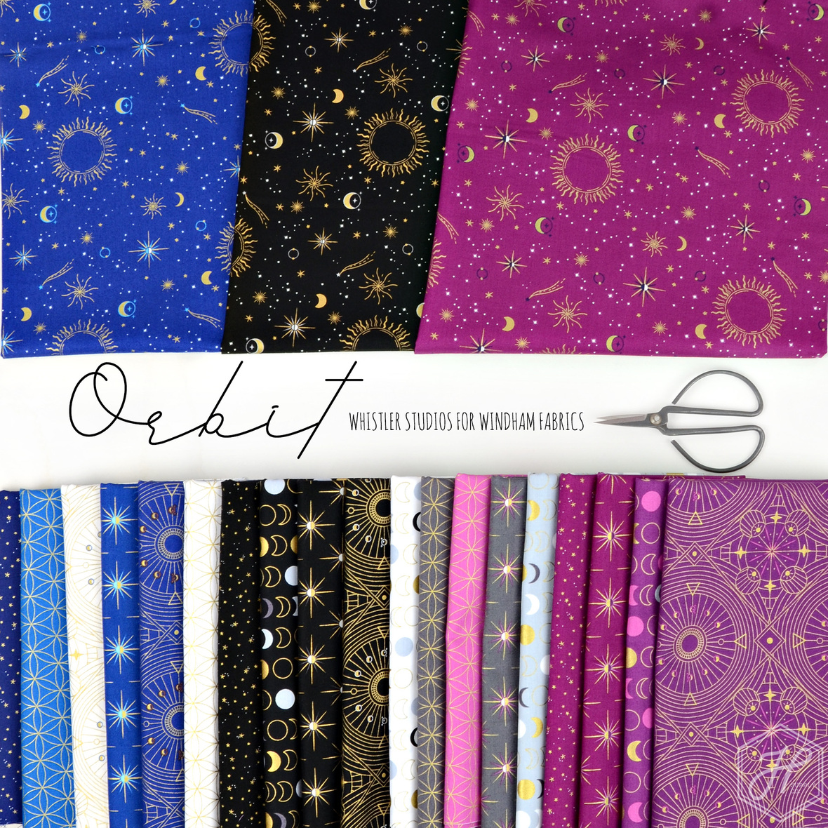 Orbit Whistler for Windham fabric at Hawthorne Supply Co