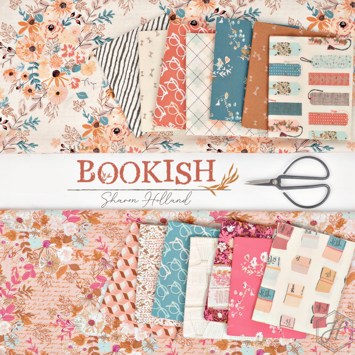 Bookish Fabric Sharon Holland for Art Gallery at Hawthorne Supply Co