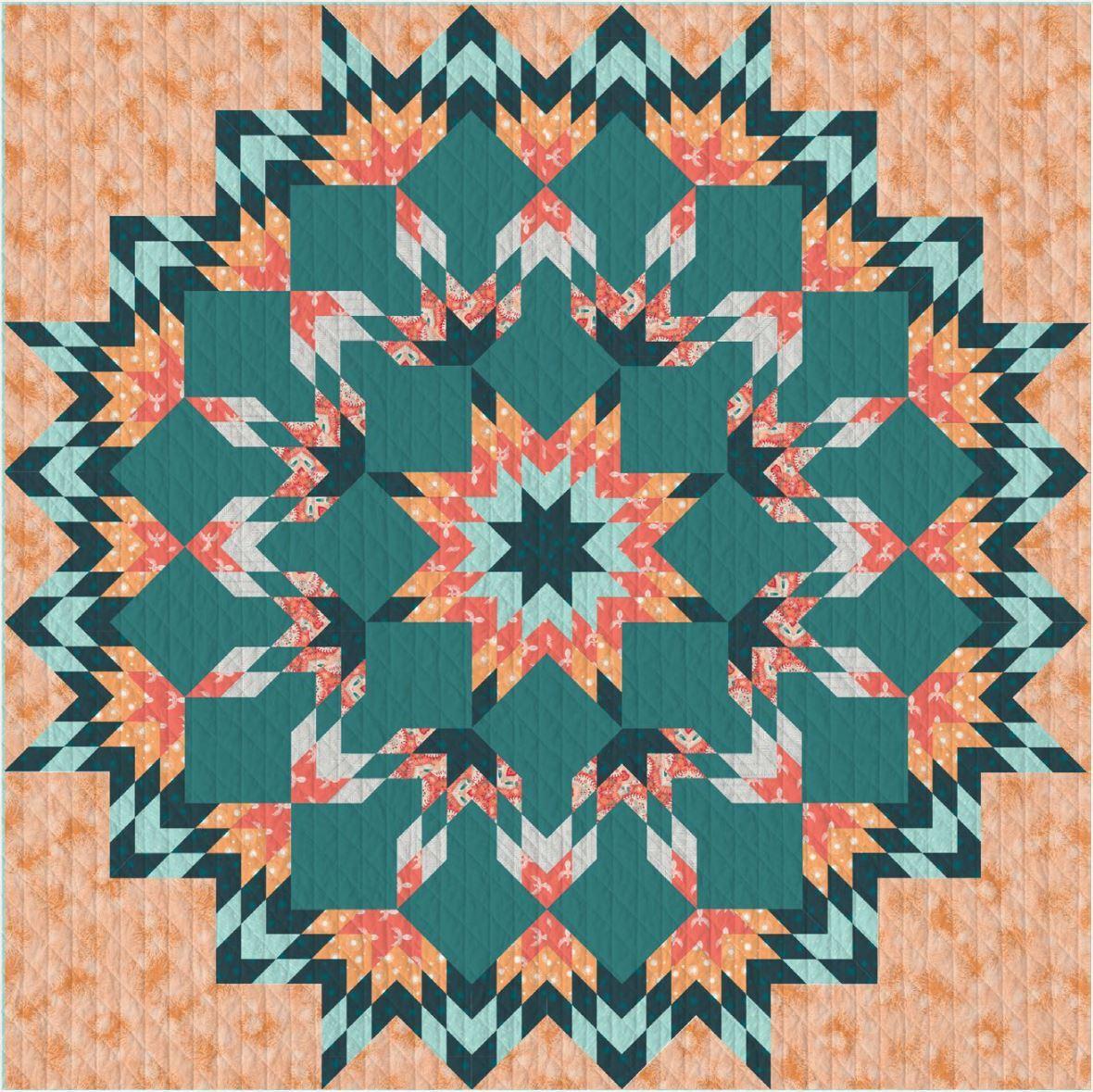 Onward and Upward Quilt Pattern
