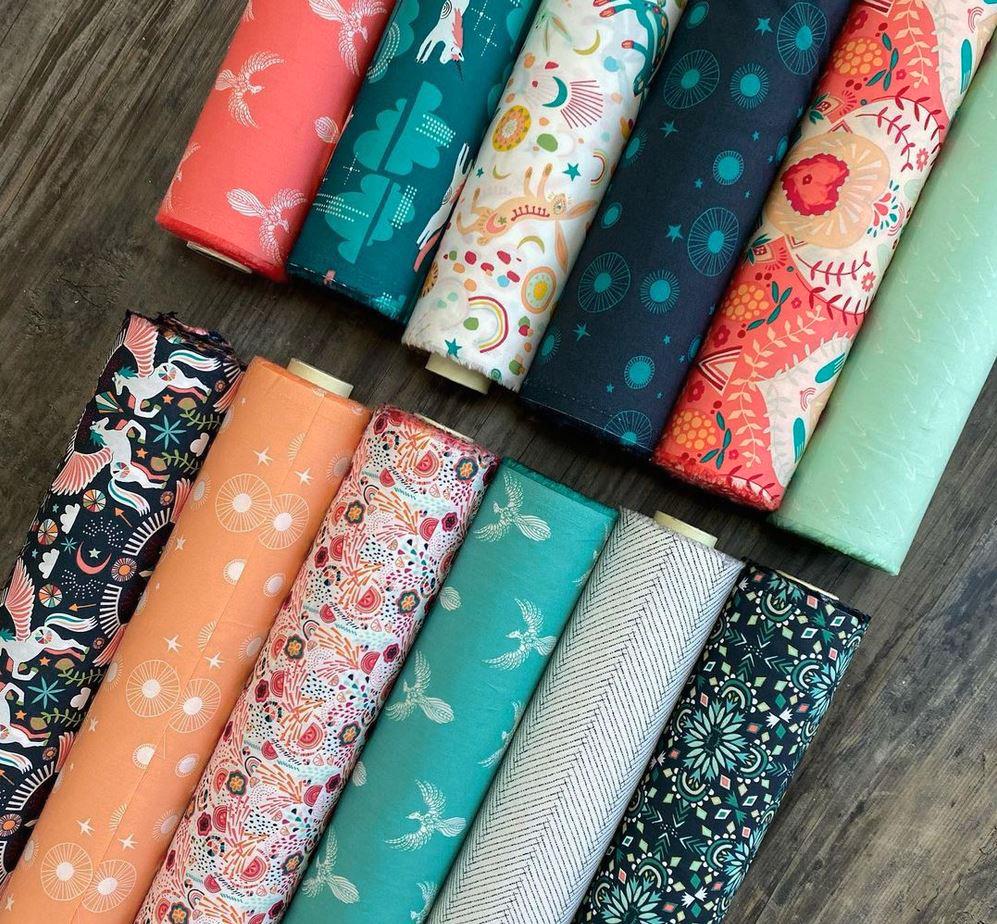 Onward and Upward fabrics