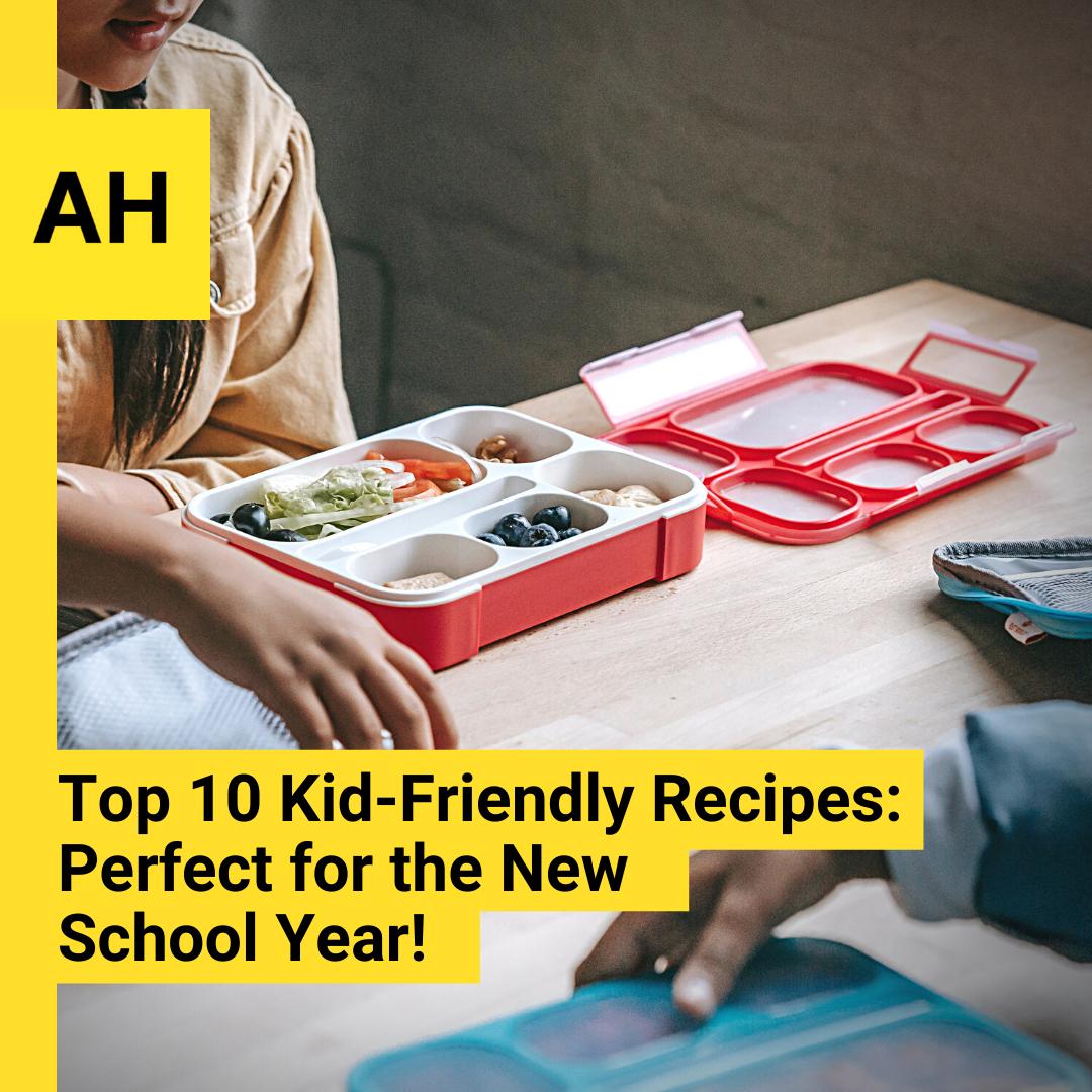 Top 10 kid-friendly snacks