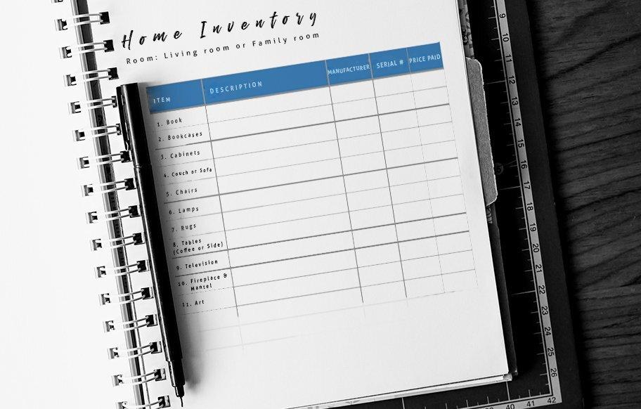 home-inventory-checklist